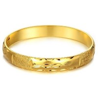 Fashion 18K Gold Plate Bracelet Bangle Jewelry