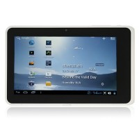 WonderMedia A2 Tablet PC 7.0 Inch Android 4.0 2GB HDMI Ultra Thin Camera White
