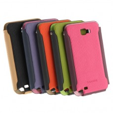 Original Brand KALAIDENG Charming I Series Straight Insert Leather Case For Samsung Galaxy Note I9220  5 Colors