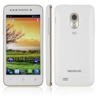 BEDOVE X12 Smart Phone Android 4.0 MTK6577 3G GPS 4.0 Inch- White