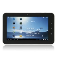 WonderMedia A1 Tablet PC 7.0 Inch Android 4.0 2GB HDMI Ultra Thin Camera White