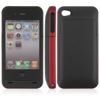 1500mAh CCIT Power Box Case and Rechargeable Backup Battery for iPhone4/4S  2 Colors