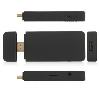 A00 Mini Android TV Box Andriod PC Android 4.0 A10 1G RAM HDMI TF 4GB- Black