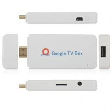 A00 Mini Android TV Box Andriod PC Android 4.0 A10 1G RAM HDMI TF 4GB- White