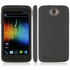 ONE X++ Smart Phone Android 4.0 MTK6577 Dual Core 1G RAM 3G GPS 4.7 Inch- Black