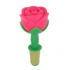 Rose Shaped Wine Bottle Plug Rosy
