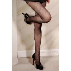 Fashion Rhinestone Print Bonas Pantyhose