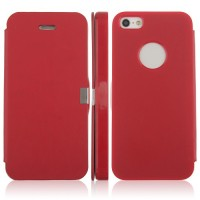 Flip Leather Case for iPhone 5