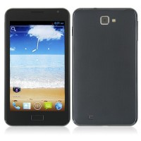 Tianji I9200 Smart Phone Android 4.0 MTK6577 Dual Core 3G GPS 5.0 Inch 8.0MP Camera- Black