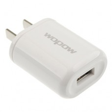 Wopow USB Port Power Supply Adapter US Plug 100-240V