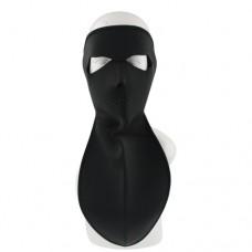 Wind Warm Care Full Face Black Neoprene Mask