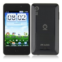 DKMX Smart Phone Android 2.3 MTK6513 GPS WiFi 4.0 Inch Capacitive Screen- Black