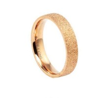 Fashion Gold 316L Titanium Steel Ring 5, 6, 7, 8