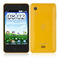 DKMX Smart Phone Android 2.3 MTK6513 GPS WiFi 4.0 Inch Capacitive Screen- Yellow