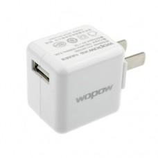 Wopow USB Power Adapter US Plug 100-240V