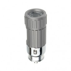 Rechargeable Car Cigarette Socket Charging Mini LED Torch Flashlight for Hiking