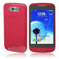 S939 TV Phone Dual Band Dual SIM Card Dual Camera Bluetooth 4.0 Inch Touch Screen- Red