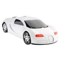 ANXIAN AX-A1 Portable Mini Music CAR Figure Speaker with  PC/ MP3/ Mobile Phone/  USB  White