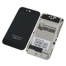 AI5 4.0 Inch Touch Screen Phone Qual Band Dual SIM Card Dual Camera Bluetooth - Black