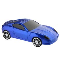 SD-599 Portable Mini Digital Music CAR Figure Speaker with TF/USB/FM Radio Dark Blue