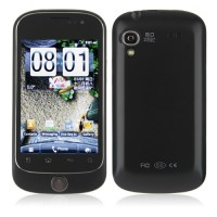 S520 Smart Phone Android 2.3 OS MTK6513 WiFi 3.5 Inch Multi-touch Screen- Black