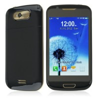 S939 TV Phone Dual Band Dual SIM Card Dual Camera Bluetooth 4.0 Inch Touch Screen- Black