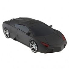 E211 Fashionable Mini Digital Music CAR Figure Speaker TF/USB/FM Radio Black