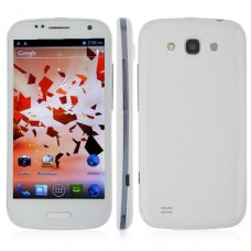 BLUEBO 9300 Smart Phone Android 4.0 MTK6577 3G GPS 4.7 Inch 8.0MP Camera- White