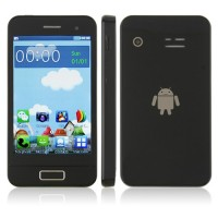 S9500 Phone Dual Band Dual SIM Card Dual Camera Bluetooth 3.5 Inch Touch Screen- Black