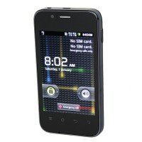 H303 Smart Phone Android 2.3 OS SC6820 1.0GHz WiFi FM 3.5 Inch- Black