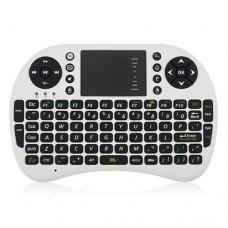 UKB-500-RF 2.4G Wireless Mini Touchpad Keyboard With Backlight 92-Keys