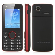 X116 Phone Dual Card GSM/CDMA Bluetooth Camera FM 2.2 Inch- Red & Black