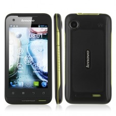 Lenovo LePhone A660 Android 4.0 MTK6577 Dual Core 3G GPS 4.0 Inch 5.0MP Camera IP67