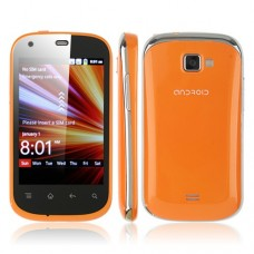 i667 3.5 Inch Smart Phone Android 2.3 MTK6515 1.0GHz Orange
