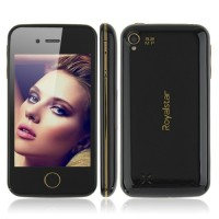 W102 Smart Phone Android 2.3 MTK6515 3G GPS 3.5 Inch Capacitive Screen- Black