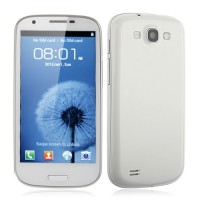 FeiTeng N9300+ Smart Phone Android 4.0 MTK6577 Dual Core 3G GPS 4.7 Inch 8.0MP Camera- White
