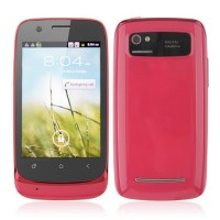 610 Smart Phone Android 2.3 MTK6515 1.0GHz WiFi 3.5 Inch Capacitive Screen- Red