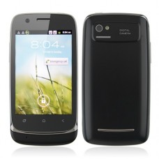 610 Smart Phone Android 2.3 MTK6515 1.0GHz WiFi 3.5 Inch Capacitive Screen- Black