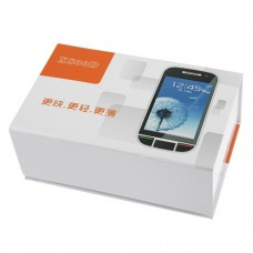 X800D 4.0 Inch Dual Band Dual SIM Card Phone Bluetooth FM Dual Camera- White