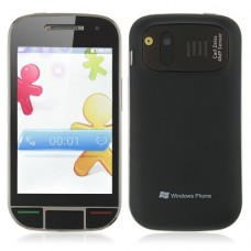 X800D 4.0 Inch Dual Band Dual SIM Card Phone Bluetooth FM Dual Camera- Black