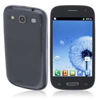 I9300 Smart Phone Android 2.3 MTK6515 1.0GHz WiFi Bluetooth 4.0 Inch- Blue