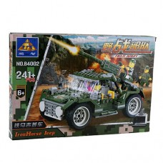 Field Army Jeep Assembly Model Kit Educational Toy Set
