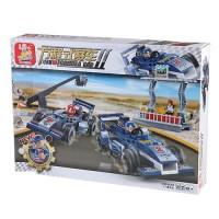 Formula Car Model Assembly Kit Educational Toy Set