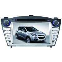 Car DVD Player GPS 7.0 Inch HD Digital Touch Screen Bluetooth for Hyundai IX35