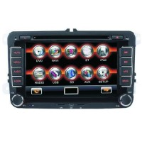 Car DVD Player GPS 7.0 Inch HD Digital Touch Screen Bluetooth for Volkswagen Caddy
