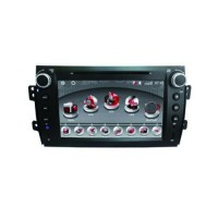 Car DVD Player GPS 8.0 Inch HD Digital Touch Screen TV Bluetooth for Suzuki SX4