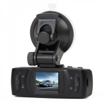 "TX133 2.7""TFT 5MP 6-LED Night Vision Car DVR Camcorder-Black"