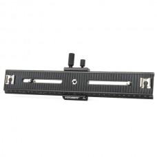 FOTOMATE LP-03 250mm Movable 2 Way Macro Focusing Rail Slider - Black