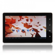 "HC-707 7""Android 4.0 5-Point Capacitive Screen Super-thin Tablet PC (8GB)- White"