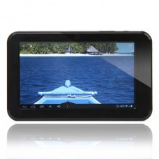 "C0709B 7.0"" Android 4.0 5-Point Capacitive Touch Screen Tablet PC - Black"